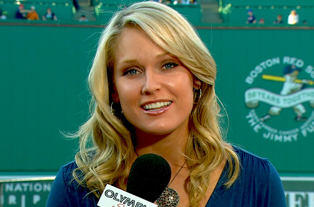 Kacie McDonnell Hired By NESN As Sideline Reporter PICS