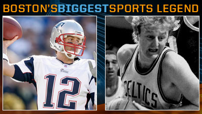 Tom Brady Is No Larry Bird